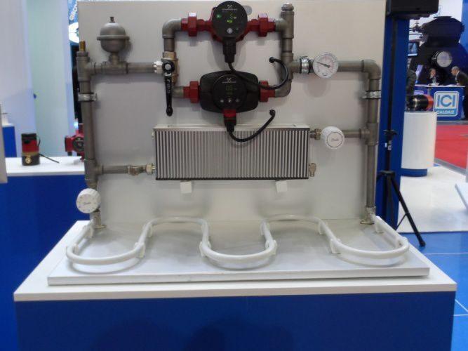 Схема прокладки отопления